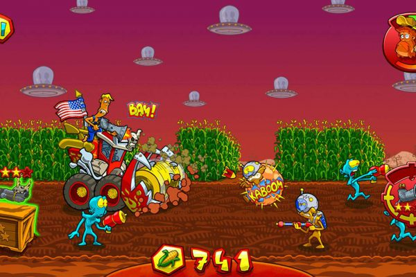 Farm Invasion USA Screenshot 02