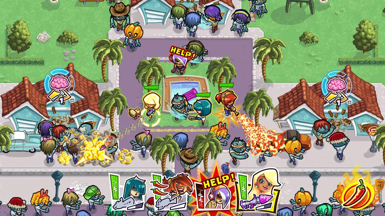 Guns 'n' Glory Zombies Screenshot 02