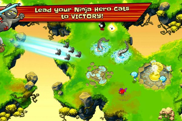 Ninja Hero Cats Screenshot 01