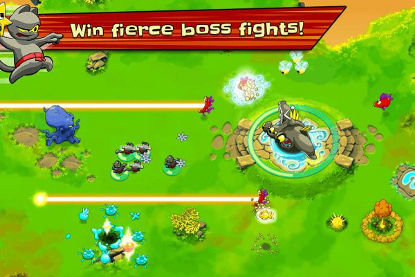 Ninja Hero Cats Screenshot 03
