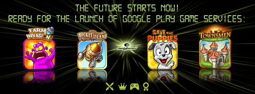 HandyGames Google Play game services