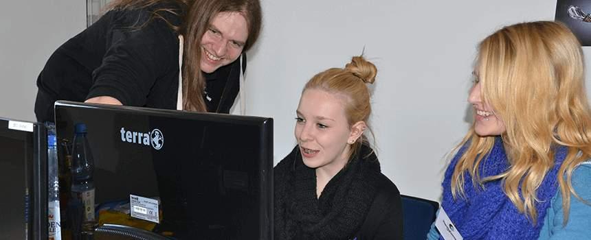 Girls Day at Handy Games