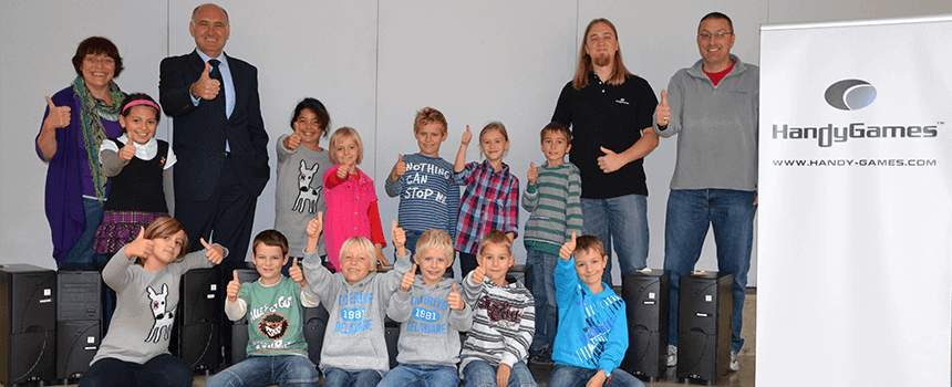 PC Donation to the Elementary School Giebelstadt