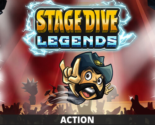 Stage Dive Legends | Rockmusic runner game | HandyGames™