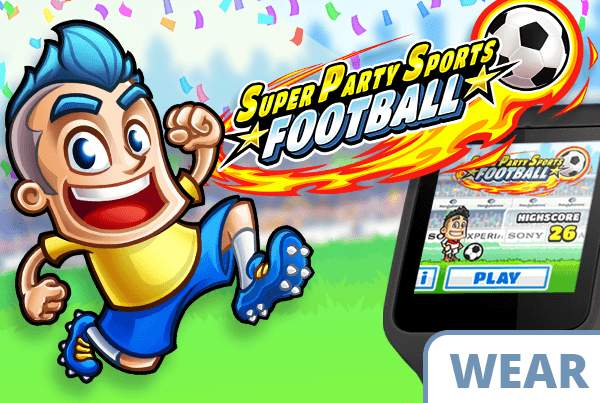 Super Party Sports: Football - Wearable Edition Preview