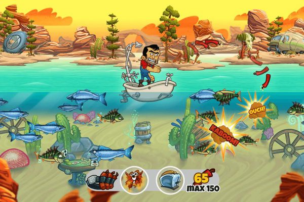 Dynamite Fishing WG Screenshot