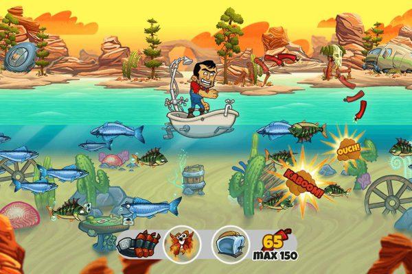 Dynamite Fishing WG Screenshot
