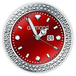 Diamond Collection - Watch Face Red