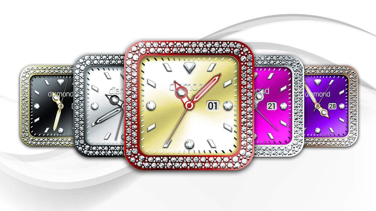 Diamond Collection – Watch Face Screenshot
