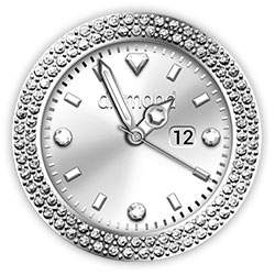 Diamond Collection - Watch Face Silver