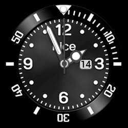 nice Collection - Watch Face Black