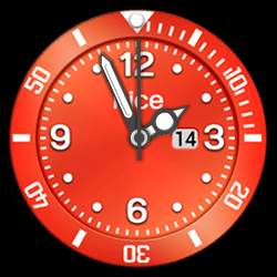 nice Collection - Watch Face Red