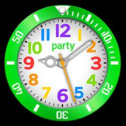 party Collection – Watch Face Green
