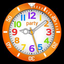 party Collection – Watch Face Orange