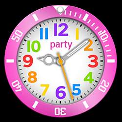 party Collection – Watch Face Pink