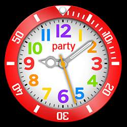 party Collection – Watch Face Red