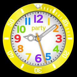 party Collection – Watch Face Yellow