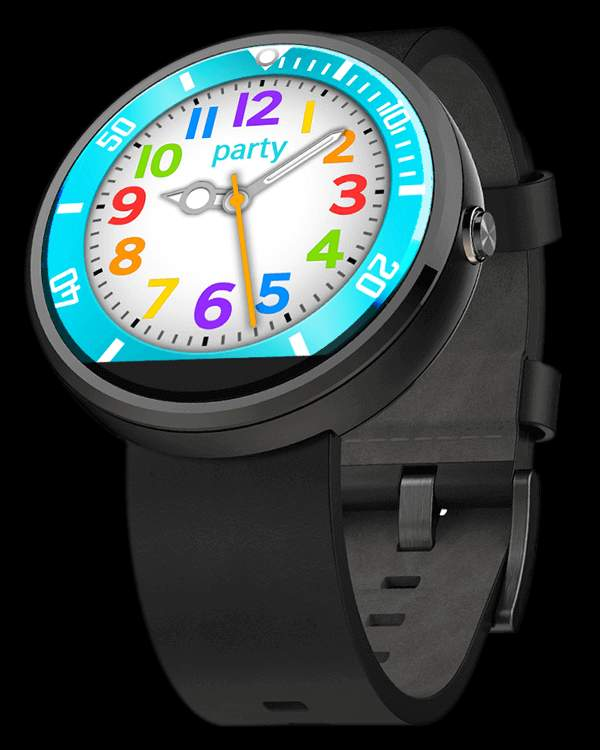 party Collection – Watch Face Moto 360