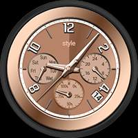style Collection – Watch Face Possible Combination 02