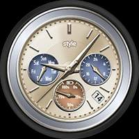 style Collection – Watch Face Possible Combination 01