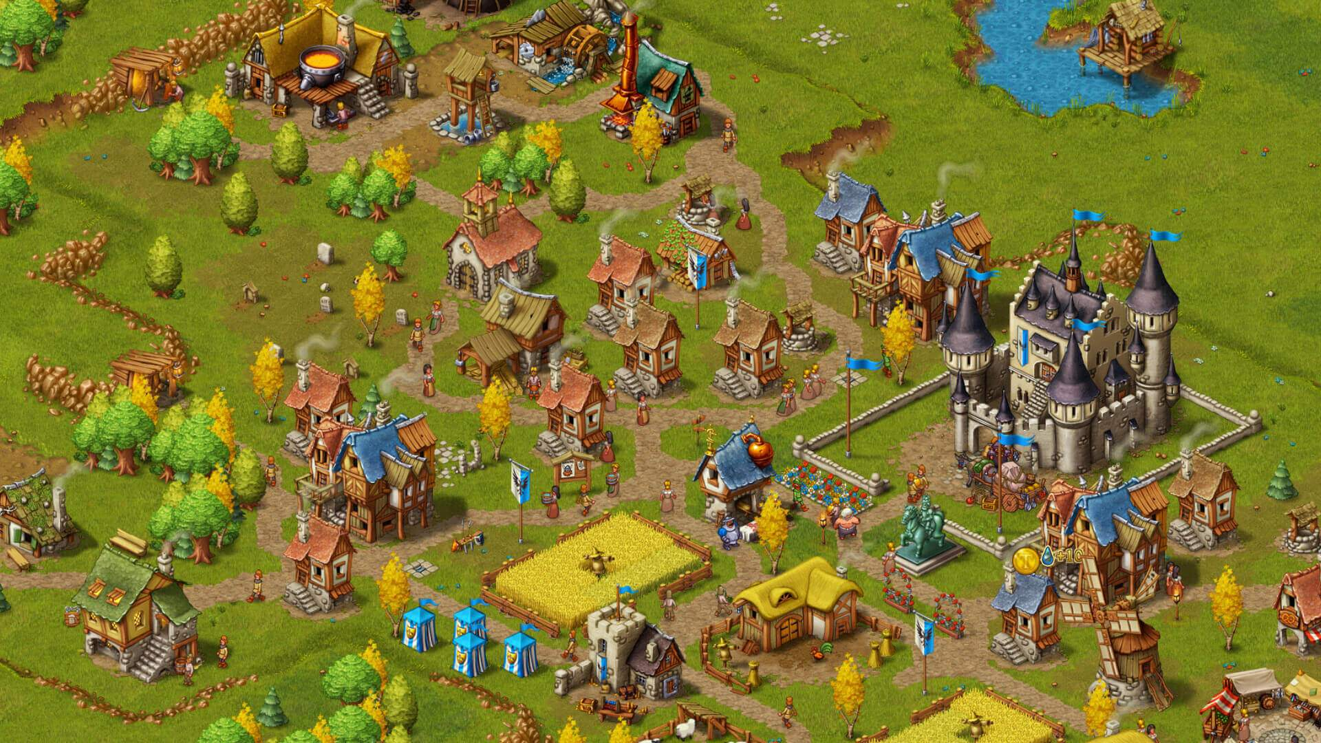 Townsmen ingame Screenshot 02
