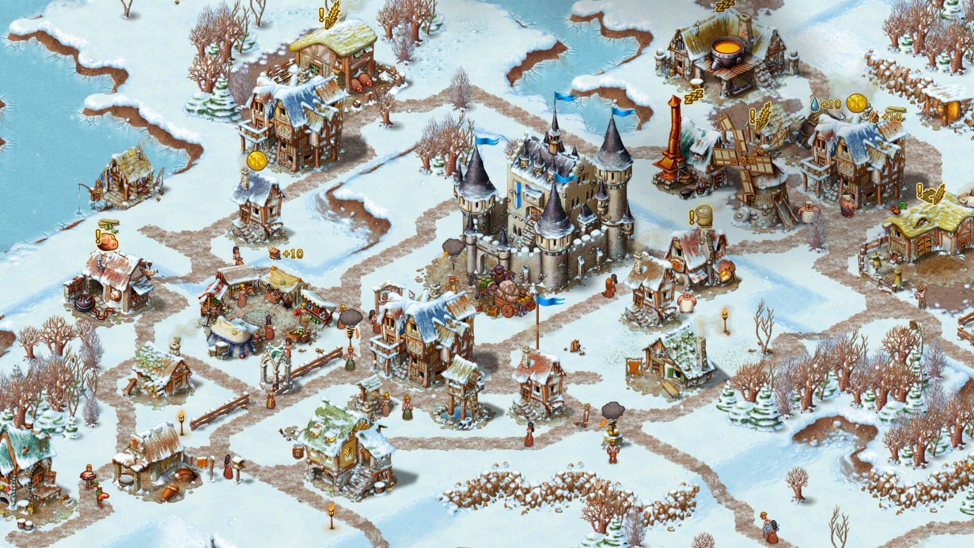 Townsmen ingame Screenshot 03
