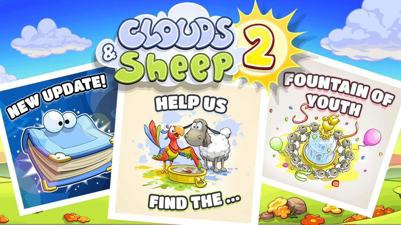 Clouds & Sheep 2 Adventure Update