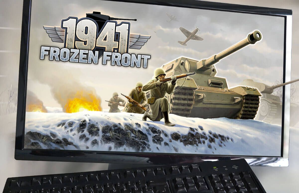 games HTML 5 1941 Frozen Front pc version browser handygames