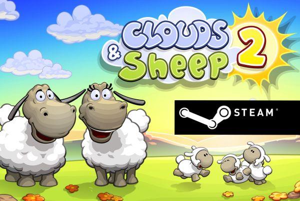 Sheep game steam logo green black