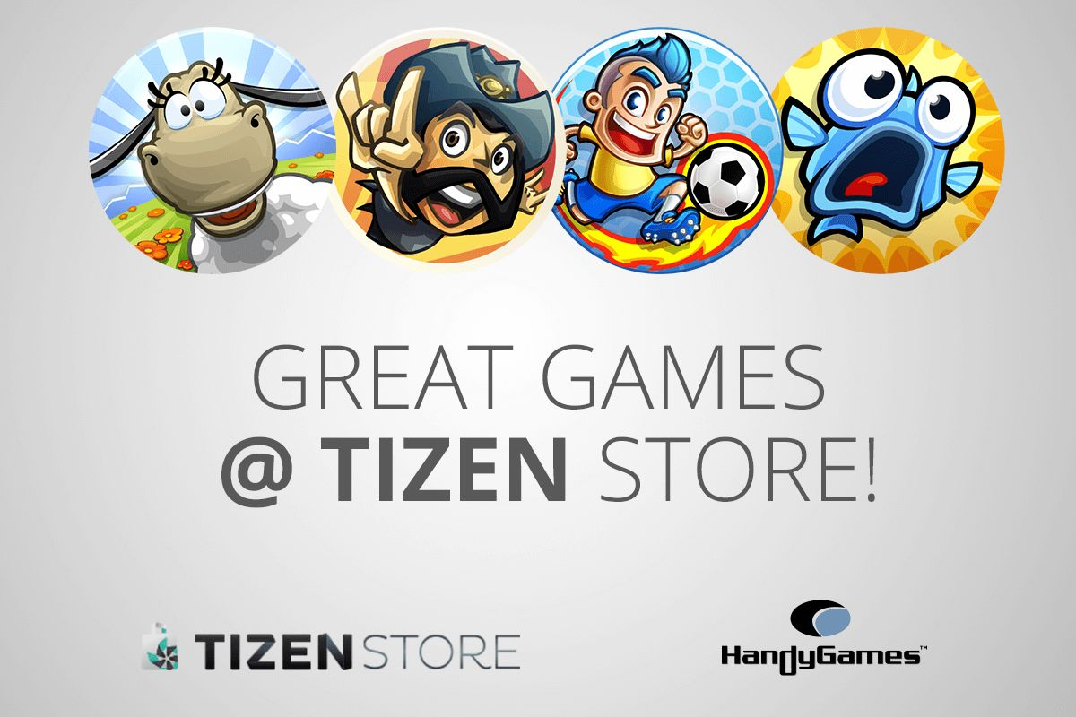 HandyGames at Tizen Store | HandyGames™