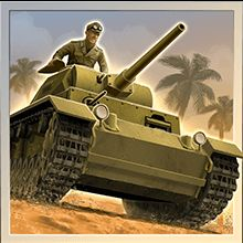 1943 Deadly Desert icon panzer war tank soldier