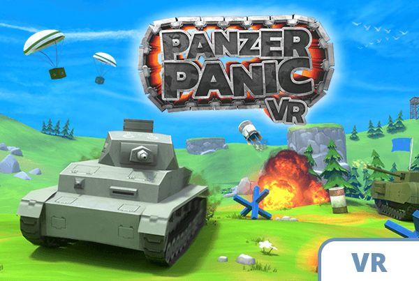 tank VR game action battlefield blue green