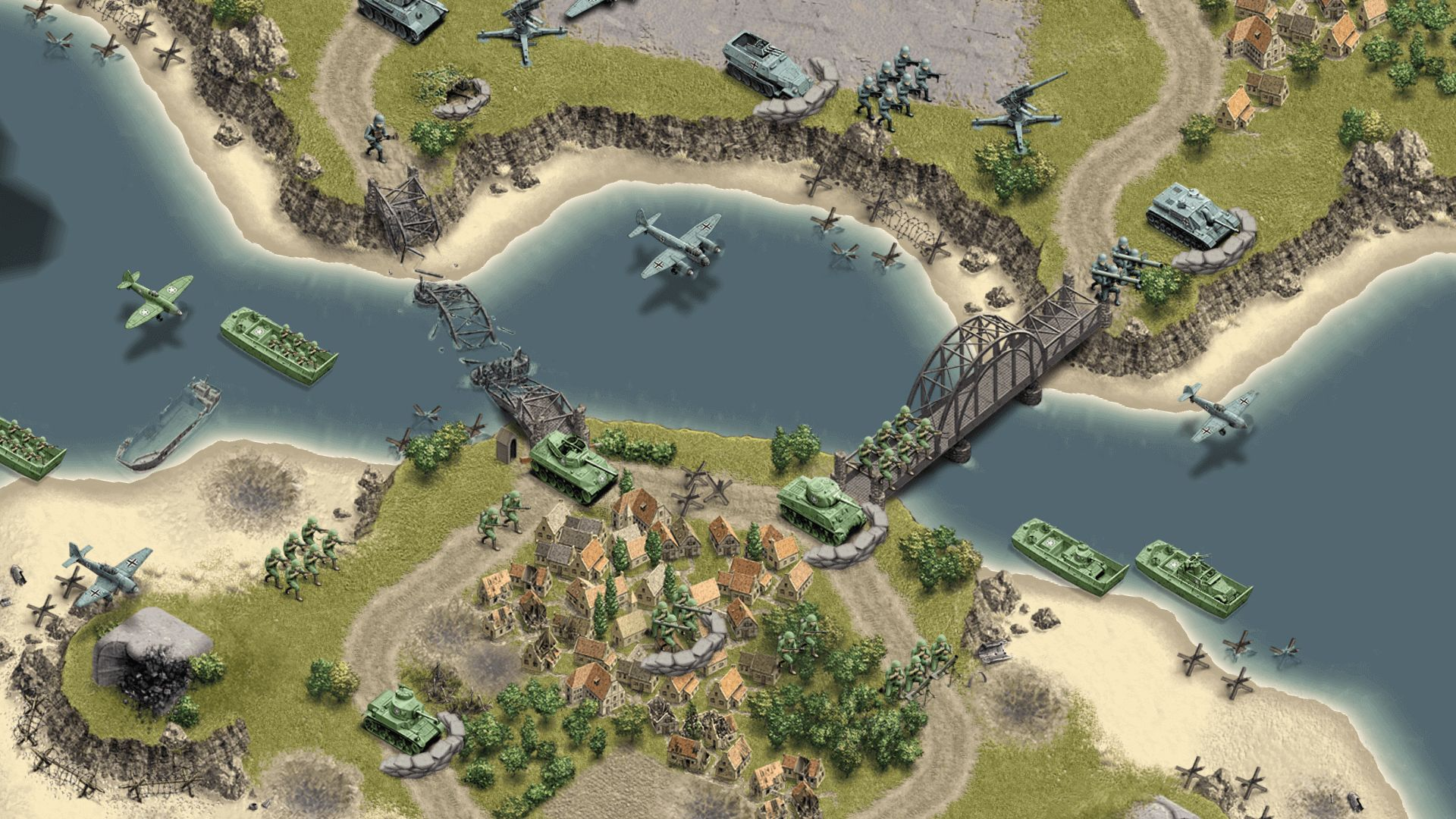 1944 Burning Bridges Screenshot 02