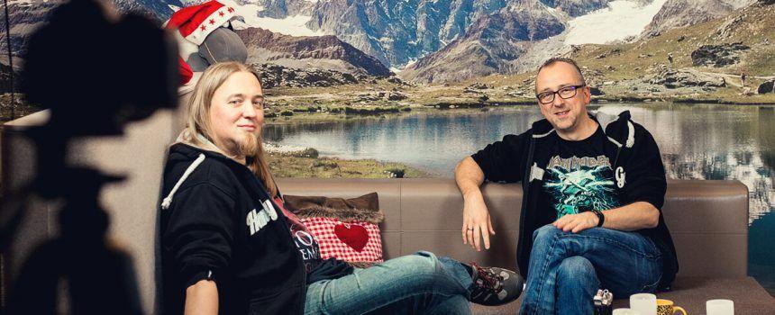 Talk in der Alm mir Christopher und Markus Kassulke