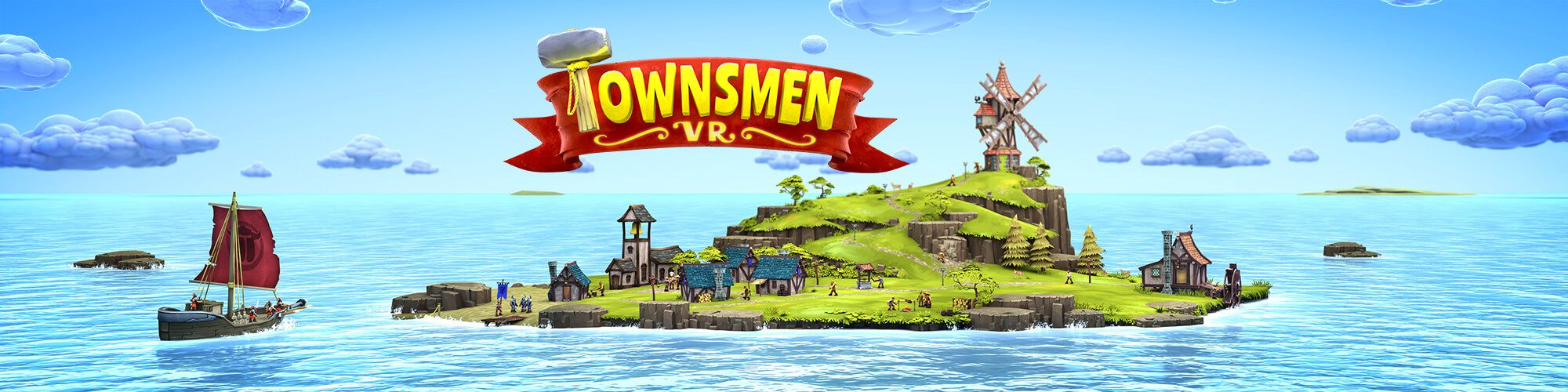 Townsmen VR – first feature update