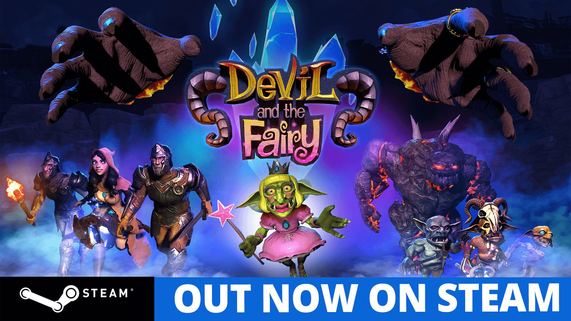Devil and the Fairy ~ Steam release