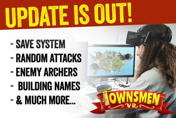 Townsmen VR NEWS featured image update