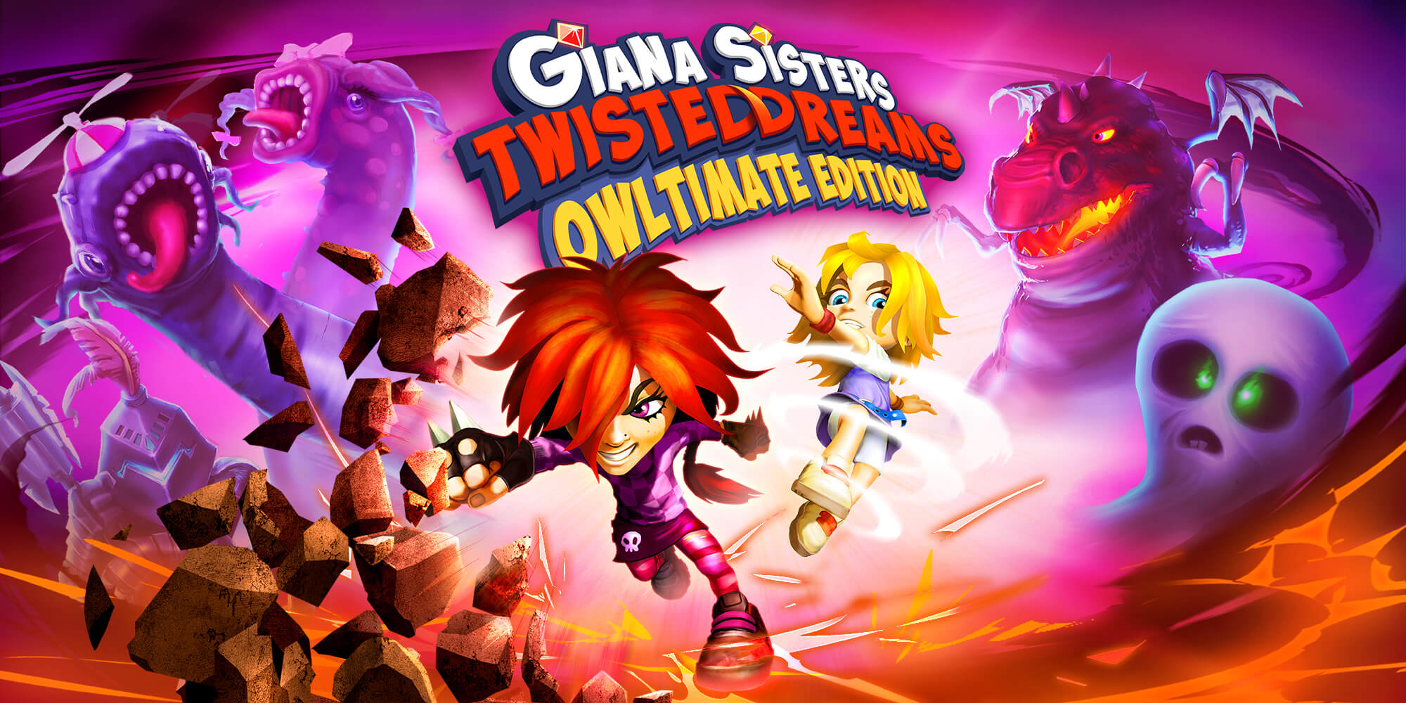 Giana Sisters Twisted Dreams – Owltimate Edition is coming to Nintendo™ Switch!