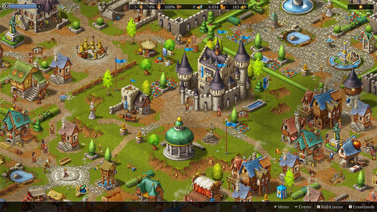 Townsmen | Medieval City-Building | HandyGames™
