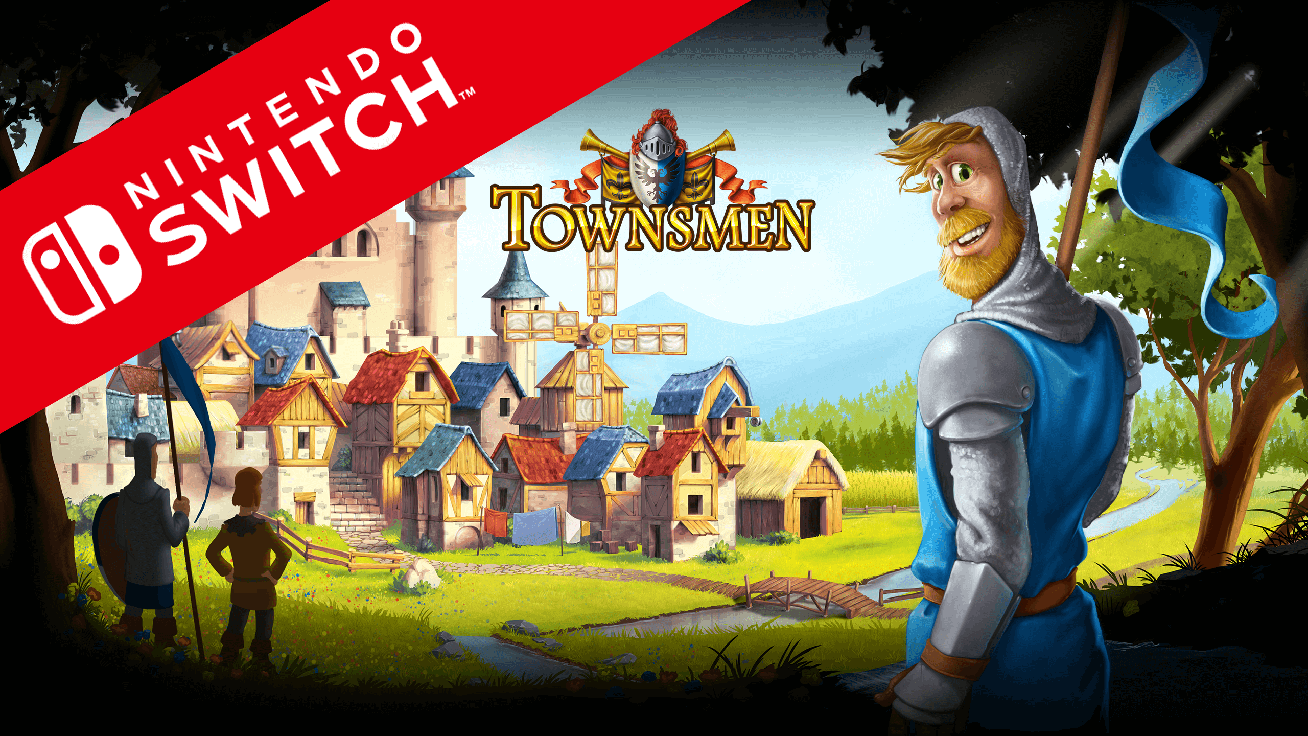 Townsmen available on Nintendo Switch now!