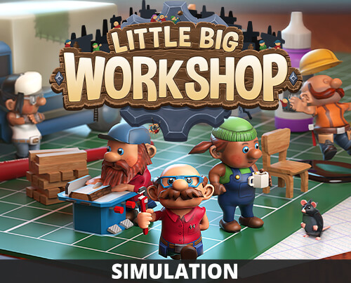 Little Big Workshop Cute Management Simulation Handygames