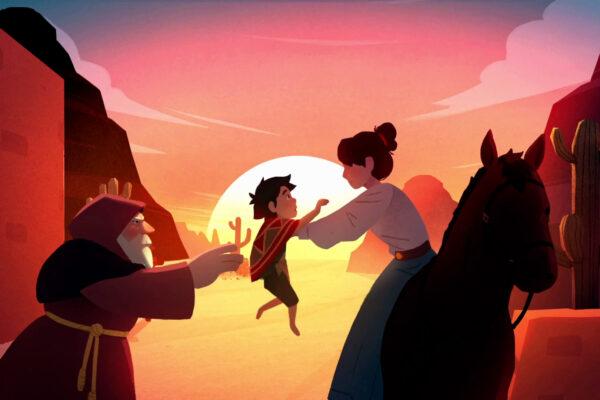 El Hijo - A Wild West Tale (Cutscene Screenshot)